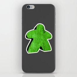 Giant Green Meeple iPhone Skin