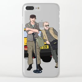 Detectorists - Lance & Andy - DMDC Clear iPhone Case
