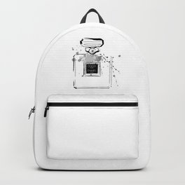 Black Perfume Backpack