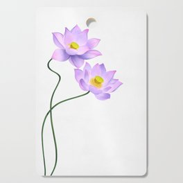 Thamarai, Yellow Flower, Floral Pattern, Yellow Blossom Cutting Board