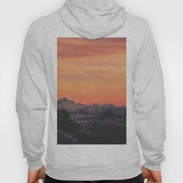 Pastel Sunset #mountains #society6 Hoody