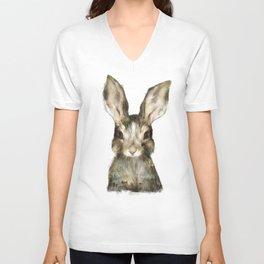 Little Rabbit Unisex V-Neck