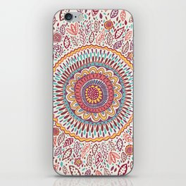 Sunflower Mandala iPhone Skin