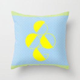 Typography Poster Series Throw Pillow