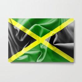 Jamaica Flag Metal Print