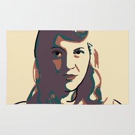 Sylvia Plath Rug