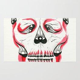 Desert Pea Skull - Soul Discovery Rug