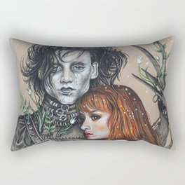 """""""Oh, Edward"""" Rectangular Pillow"""