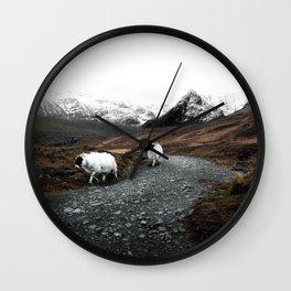 Ram Crossing / Isle of Skye Wall Clock