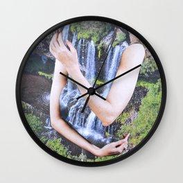 Cold Feelings Wall Clock
