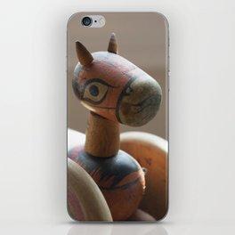 Horse on Wheels iPhone Skin