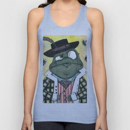 A toad about town Unisex Tank Top