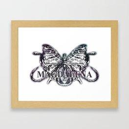 MAGDALENA - MGD01mono Framed Art Print