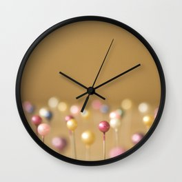 Pins Wall Clock