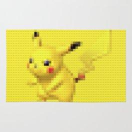 Electric Mouse - Legobrick Rug
