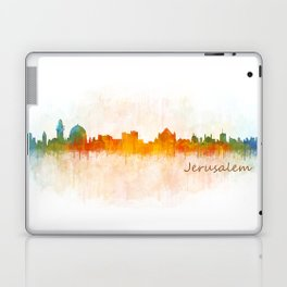 Jerusalem City Skyline Hq v1 Laptop & iPad Skin