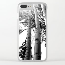 Up Aspens Clear iPhone Case
