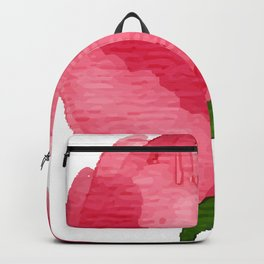 Beauty Rose Flower Backpack