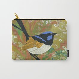 Superb Fairy Wren Carry-All Pouch
