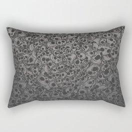 Skulls...so many Rectangular Pillow