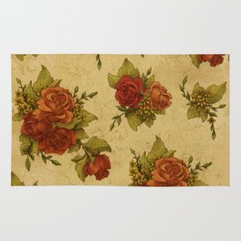 Antique Wallpaper 1 Rug