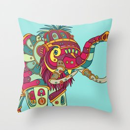 Mammoth, cool wall art for kids and adults alike Throw Pillow