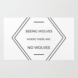 Seeing Wolves (Where There Are No Wolves) 07 Rug