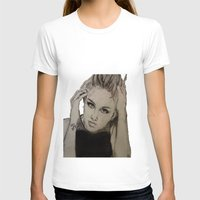 miley T-shirts featuring Miley Cyrus by Brittany Ketcham