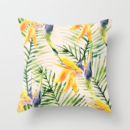 Tropical Pattern 2 Throw Pillow