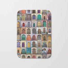 Moorish Doors Montage Bath Mat