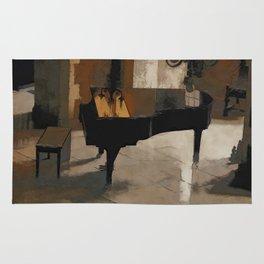 Grand Piano Artwork Rug