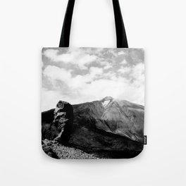 Teide in black Tote Bag