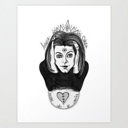 Patron Saint of Longing Art Print