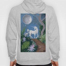 Moonlit Unicorn Hoody