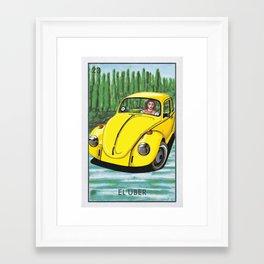 El Uber Framed Art Print