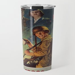 Vintage poster - War Fund Travel Mug