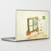 apple Laptop & iPad Skins featuring Apple! by Pepan