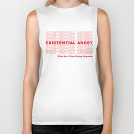 EXISTENTIAL ANGST Biker Tank