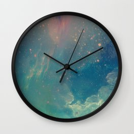 Space fall Wall Clock