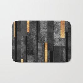Urban Black & Gold Badematte