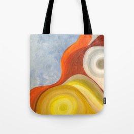 Cadmium Wave Tote Bag