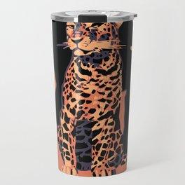 Retro vintage Munich Zoo big cats Travel Mug