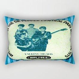 Central Park talking heads 1979 Rectangular Pillow