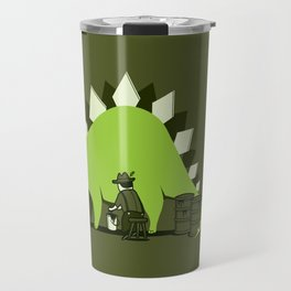 Crude oil comes from dinosaurs Travel Mug