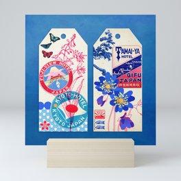 Label Fables, Japan II :: Fine Art Collage Mini Art Print