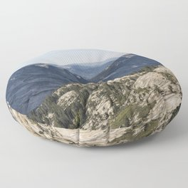 The Other Side of Half Dome Floor Pillow