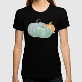 Colorful pumpkin trio T-shirt