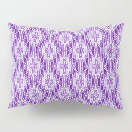 Diamond Pattern in Purple and Lavender Pillow Sham