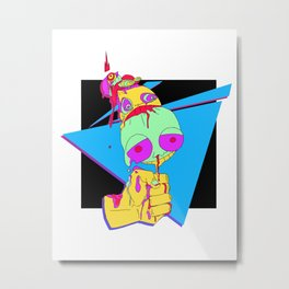 King Cone Metal Print