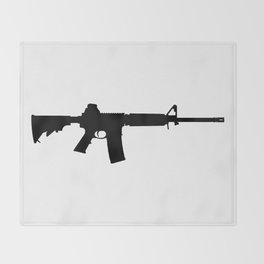 AR-15 Throw Blanket